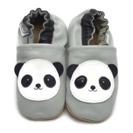 Harmaat Panda Tossut